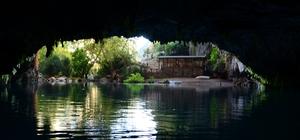 (Özel) Dünyaca ünlü Altınbeşik Mağarası, yeniden ziyarete açılacağı günü bekliyor Dünyanın 3'üncü, Türkiye'nin en uzun yeraltı gölüne sahip mağara sessizliğe büründü