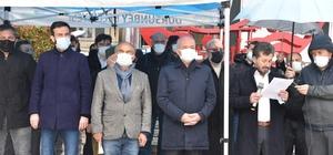 Dursunbey'de STK'lar Darbe İmalı Bildiriyi Kınadı