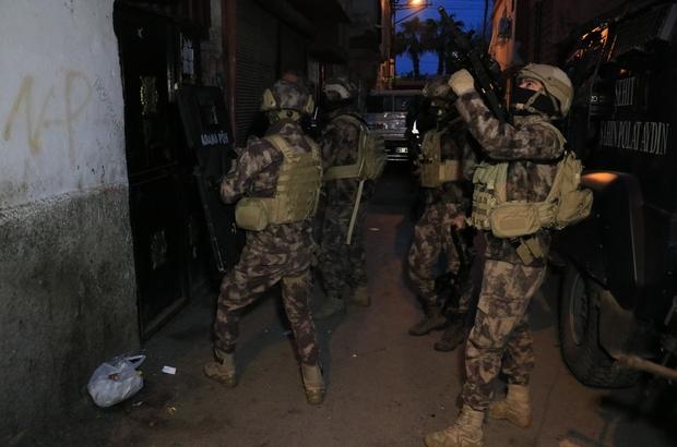 Adana'da merkezli 4 ilde narkotik operasyonu: 25 gözaltı kararı