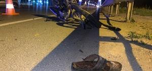 Askerden dönen genç kazada öldü Otobüsle çarpışan motosiklet sürücüsü hayatını kaybetti