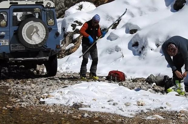 (Özel Haber) Munzur Dağlarında dağ kayağı keyfi Adrenalin tutkunlarının yeni gözdesi Munzur Dağları