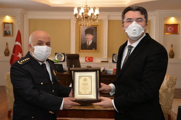 Erzurum emniyetinden vali memiş'e ?polis haftası? ziyareti - Erzurum  Haberleri