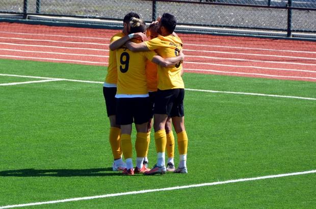 Aliağaspor FK hazırlık maçında güldü