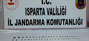 Isparta'da 108 tarihi eser ele geçirildi