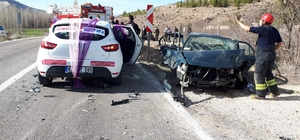 Konya'da 3 otomobil çarpıştı: 7 yaralı