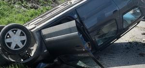 Bir anlık dikkatsizlik kazaya neden oldu: 1 yaralı