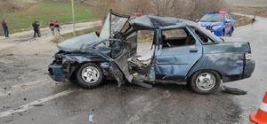 Tokat'ta 3 aracın karıştığı kazada 1 kişi hayatını kaybetti
