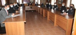 Manyas'ta aile içi kadına yönelik şiddet konulu toplantı yapıldı