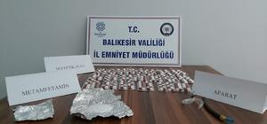 Balıkesir'de huzur operasyonu: 20 kişi yakalandı