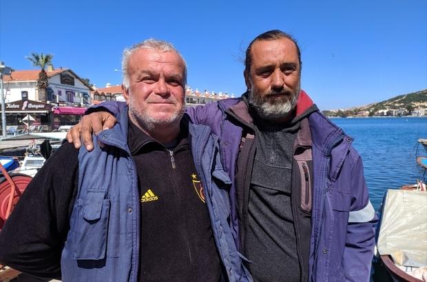 """Foça'da düşen askeri uçaktaki pilotları kurtaran balıkçı o anları anlattı Balıkçı Latif Beytorun: """"Bir uçak gelir ama bir pilot yetiştirmek çok zor"""""""