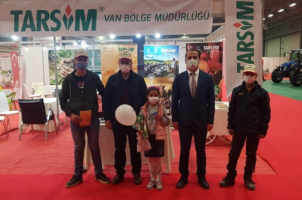 TARSİM, Doğu Anadolu Tarım, Hayvancılık ve Gıda Fuarı'na katıldı