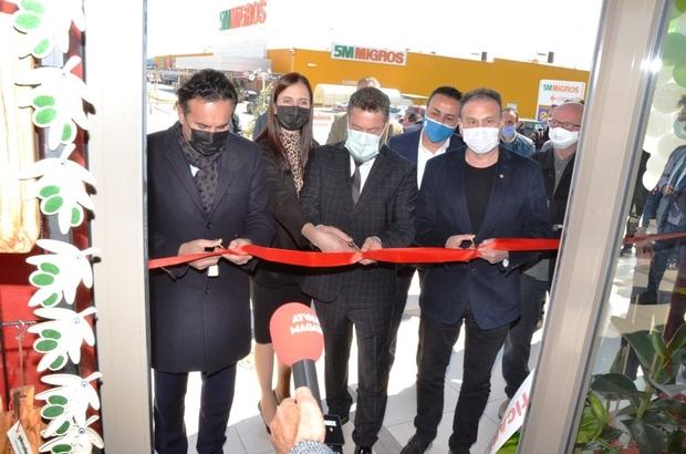 Pandemi sürecinde yöresel pazarlara ilgi yoğun Mutluköy Tarım Zeytin ve Zeytinyağı Yöresel Doğal Ürünler Mağazası hizmete girdi