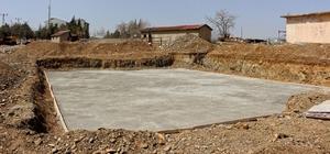 Kesim tesisi'nde çalışmalar sürüyor Ekinözü'nde 1,5 milyon TL'lik yatırım
