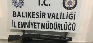 Balıkesir'de polis ve jandarmadan 43 şahsa huzur operasyonu
