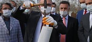 Diyarbakır'da ilk kez kestane ağacı aşılandı Vali Münir Karaloğlu: ''2023 yılı sonuna kadar 40 bin kabuklu meyve ağacını aşılamayı hedefliyoruz''