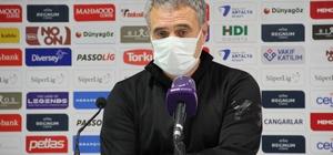 """Ersun Yanal: """"Kazanamadık"""" FT Antalyaspor Teknik Direktörü Ersun Yanal: """"Puana ihtiyacı olan takım maçı kazandı"""""""