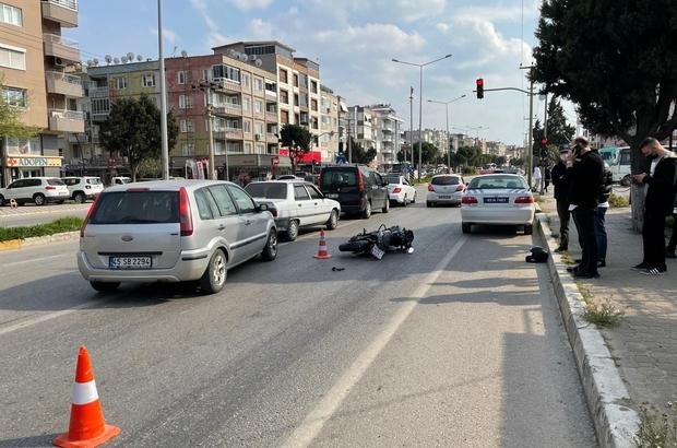 Genç motosikletli kazada hayatını kaybetti