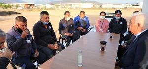 Başkan Gürün, işçilerle yatırım ve projeleri konuştu