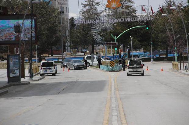 Erzurum'da sokağa çıkma kısıtlaması