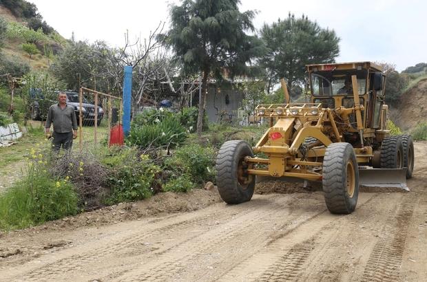 Turgutlu Belediyesinden arazi yolları mesaisi