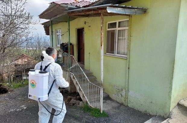 """İlkadım'dan virüs tespit edilen ev ve iş yerlerine ücretsiz dezenfekte Başkan Demirtaş: """"Sağlıklı yaşam için tedbirlere uymaya devam edelim"""""""