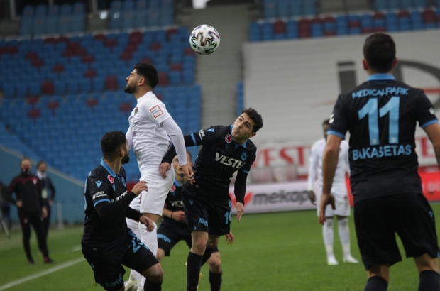 Süper Lig: Trabzonspor: 1 - Atakaş Hatayspor: 1 (Maç sonucu)