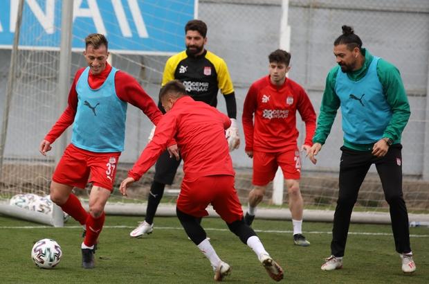 Sivasspor ara vermeden Beşiktaş maçı hazırlıklarına başladı