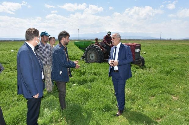 """Çiftçi dostu belediye Başkan Aydın: """"Üreten her kesin yanındayız"""""""