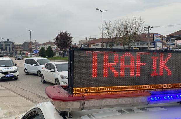 Boş sokaklarda hız yapanlar radara takıldı Kısıtlamada yolların boş kalmasını fırsata çevirenler hız yapınca radara yakalandı