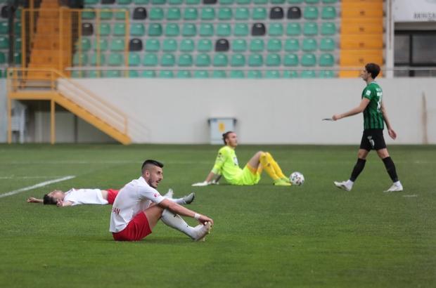 TFF 1. Lig Akhisarspor: 1 - Altınordu: 1