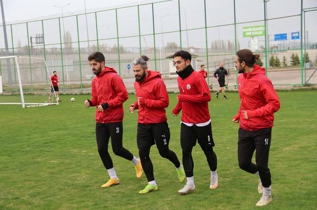 Sivas Belediyespor'da Eyüpspor maçı hazırlıkları başladı