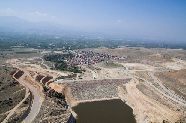 Alaşehir'de 1290 dekar arazi sulanacak