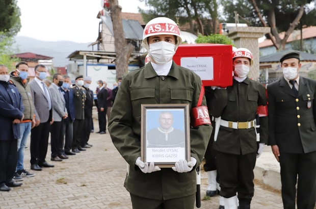 Kıbrıs Gazisi askeri törenle ebediyete uğurlandı Manisa'nın Alaşehir ilçesinde yakalandığı amansız hastalıktan kurtulamayan Kıbrıs Gazisi Necdet Uysal son yolculuğuna uğurlandı