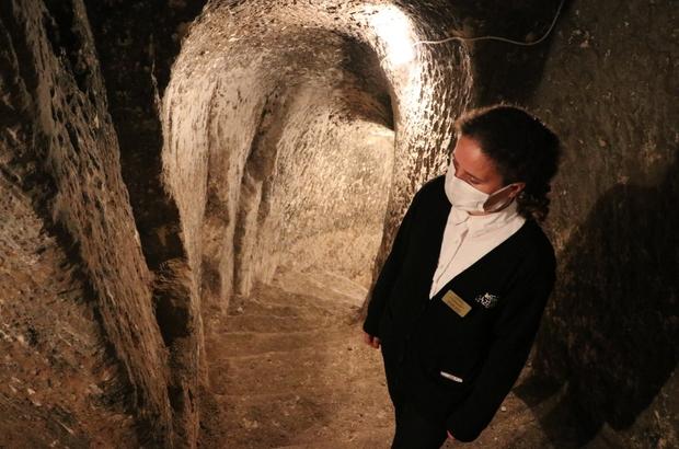 Restore edilen tüneller turizme açılacak