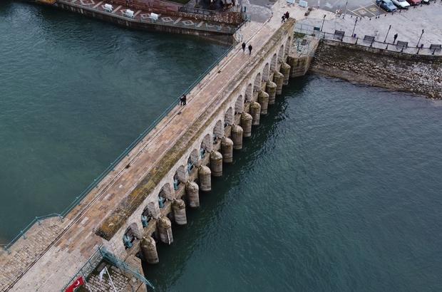 Beyşehir Gölü'nden BSA kanalına su akışı yeniden başladı