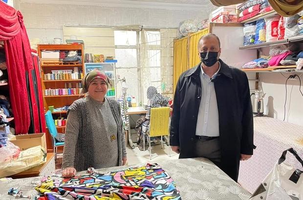 İznik Belediye Başkanı Mehmet Usta, güne esnaf ziyareti ile başlıyor