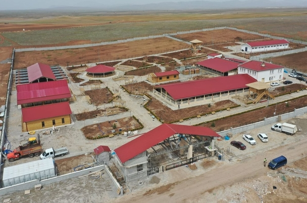 Kangallar için yapılan dev tesis Haziran ayında açılıyor Sivas Valisi Salih Ayhan, Kangal Köpeği Üretim, Eğitim ve Koruma Merkezi'nin Haziran ayında açılacağını söyledi.