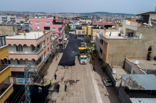 Şahinbey'de asfalt sezonu başladı