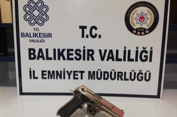 Balıkesir polisinden son 1 haftada 148 kişiye gözaltı Adli makamlara sev edilenlerden 32 kişi tutuklandı