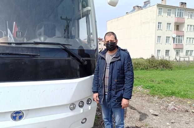 Yolcu taşıma belgesi almak için yetkililerden yardım bekliyor