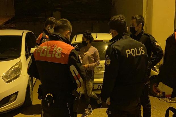Çaldığı bisiklet ile olay yerine gelen genç kız yakalandı