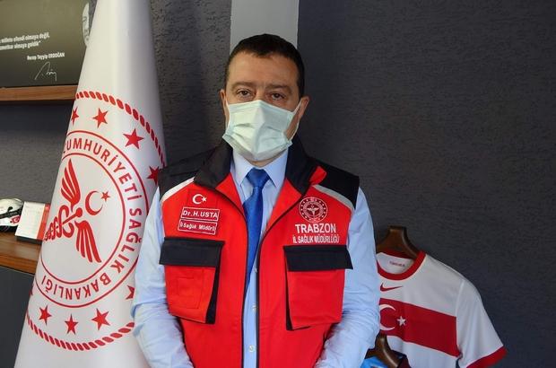 """İl Sağlık Müdürü Usta: """"Hastanelerde doluluk oranı konusunda sınırlara doğru gidiyoruz"""" Trabzon İl Sağlık Müdürü Hakan Usta: """"65 ve 85 yaş gruplarında hedeflediğimiz aşı oranlarına ulaştık ancak 60-65 yaş arasında çok ciddi bir hayal kırıklığımız var"""""""