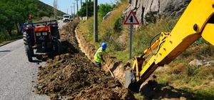 Muğla Büyükşehir 280 kilometre içme suyu hattı yaptı Muğla Büyükşehir Belediyesi MUSKİ Genel Müdürlüğü, 2020 yılında il genelinde 280 bin metre içme suyu hattı ve 115 bin metre kanalizasyon hattı çalışması yaptı.