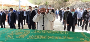 Diyanet İşleri Başkanı Erbaş'ın acı günü Diyanet İşleri Başkanı Ali Erbaş'ın vefat eden amcası, Ordu'nun Kabadüz ilçesinde toprağa verildi