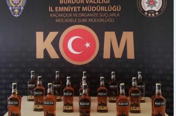 Burdur'da kaçakçılık operasyonu