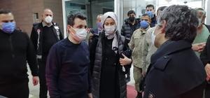 Kazada yaralanan Olur Kaymakamı taburcu oldu Kaymakam taburcu oldu, Belediye Başkanı Erzurum'a sevk edildi