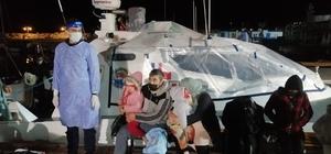 Çanakkale açıklarında 101 düzensiz göçmen kurtarıldı