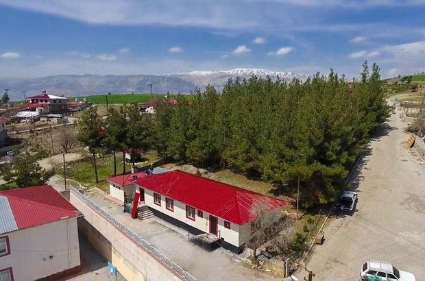 Kahramanmaraş'ta sosyal tesis çalışmaları