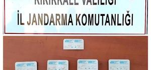 Kırıkkale'de 30 adet uyuşturucu hap ele geçirildi