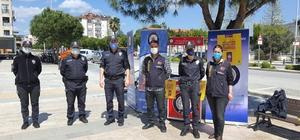 Ortaca'da KADES tanıtıldı, vatandaşlara maske dağıtıldı